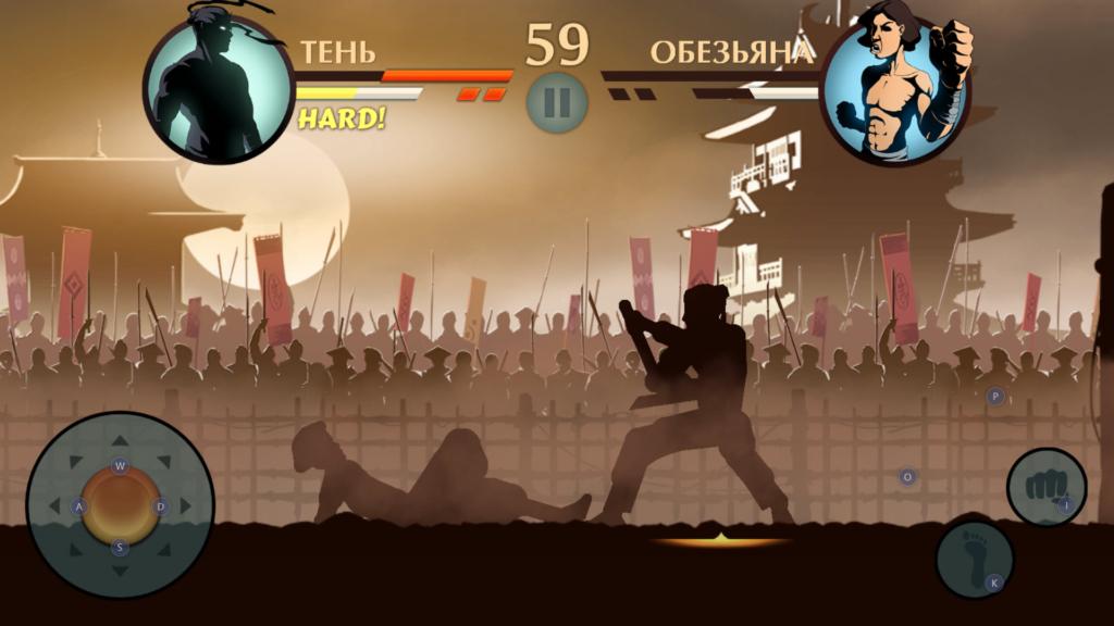 Сражения в Shadow Fight 2