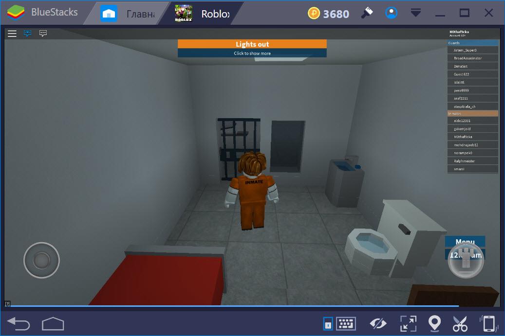 Геймплей игры Roblox