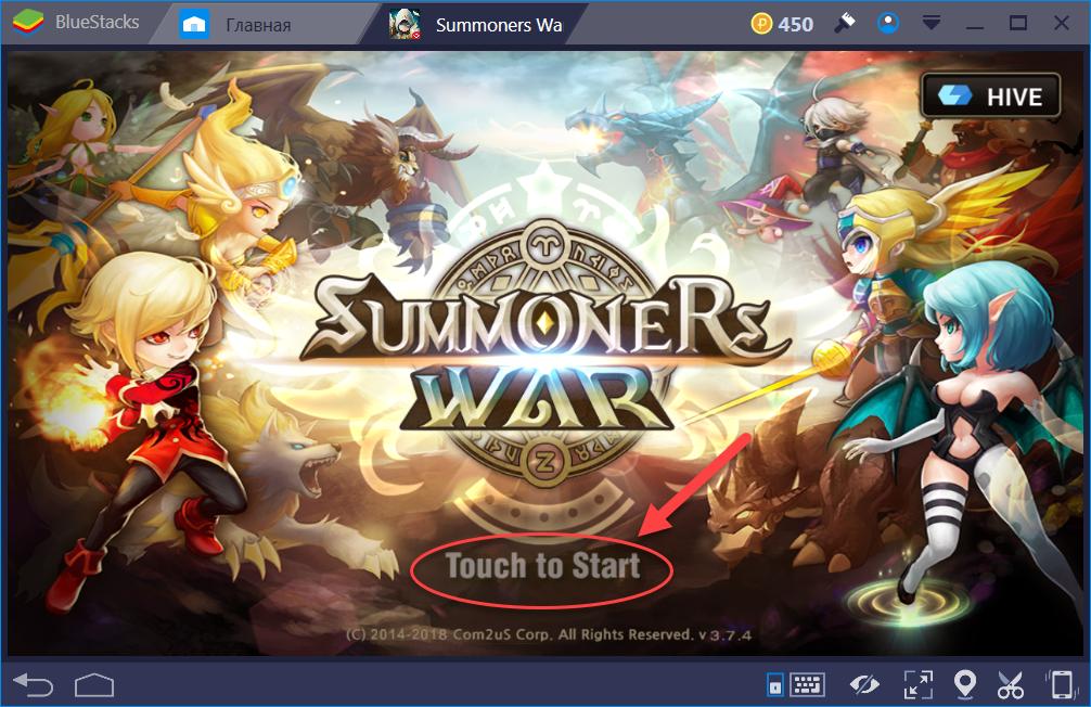Начинаем игру Summoners War