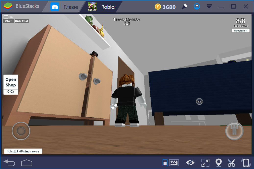 Игровой мир в Roblox